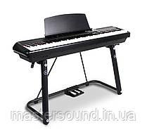 """Цифровое пианино Pearl River P-60 BK+""""U"""" стойка"""