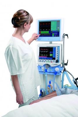 Аппарат исскуственной вентиляции легких  Chirolog SV Basic, Chirana