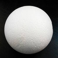 Заготовка шар из пенопласта (диам. 9 см) 1 шт.
