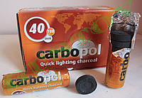 Уголь для кальяна Carbopol D40 mm