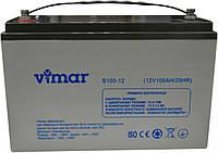 Аккумулятор Vimar B100-12 12В 100Ah, мультигелевый (AGM) для ИБП, фото 1