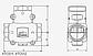 """Термический клапан трехходовой 1"""" ESBE VTC511 60°C Kv-9, фото 2"""