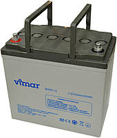 Аккумулятор Vimar BG55-12 12В 55Ah, гелевый (Gel) для ИБП, фото 1