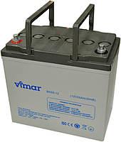 Аккумулятор Vimar BG55-12 12В 55Ah, гелевый (Gel) для ИБП