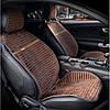 Накидка на сидения из алькантары коричневые Elegant Napoli 700 215 (передние)