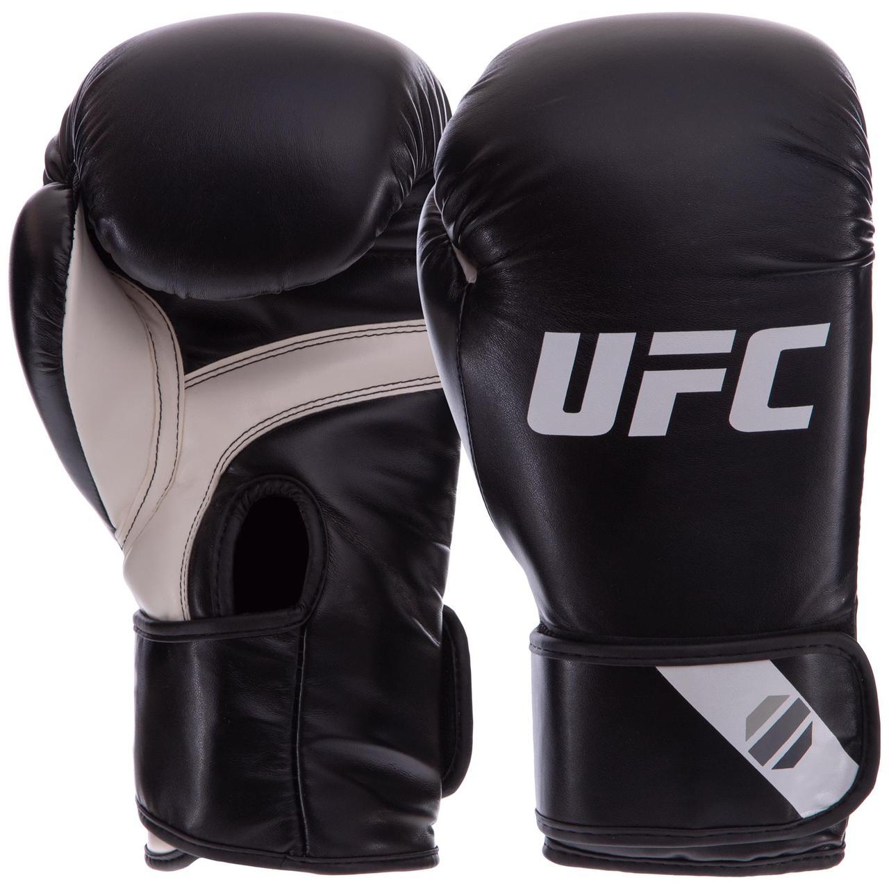 Перчатки боксерские PU на липучке UFC PRO Fitness UHK-75027