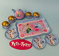 Набор металлической посуды Холодное сердце, Princess Q 21003-1/3