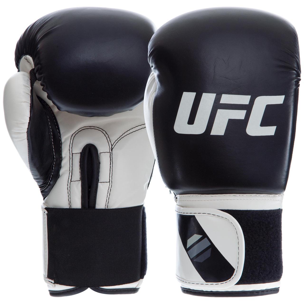 Перчатки боксерские PU на липучке UFC PRO Compact UHK-75004