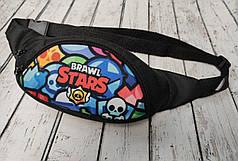 Stars детская сумка бананка на пояс старс плотная нейлон