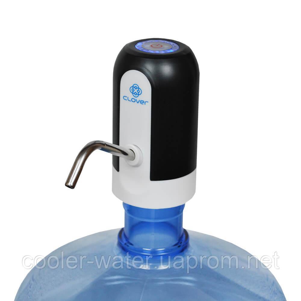 Помпа для воды электрическая Clover K7 Black