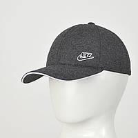 Бейсболка Трикотаж Nike (репліка) сірий