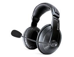 Навушники REAL-EL GD-750MV black навушники з мікрофоном (шкіряні) Джек 3,5 мм (GD-750MV)