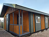 Дачный домик 6м*8,5м включая  террасу, фото 2