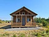 Дачный домик 6м*8,5м включая  террасу, фото 4
