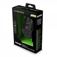 Миша Esperanza MX211 Lightning USB Black (EGM211R) 2400dpi