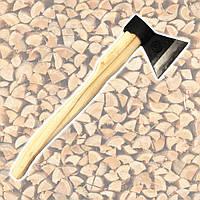 Топор кованый 1200 г ручка из бука HTools, 05K134