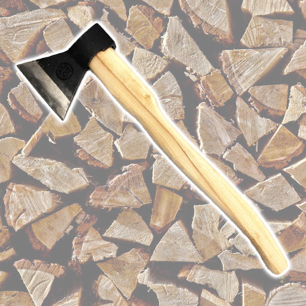 Топор кованый 1400 г, ручка из бука HTools, 05K135