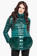 Изумрудная куртка Braggart высокого качества женская осенне-весенняя модель 15115