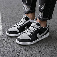 Кроссовки мужские Nike SB Dunk Black\Grey кроссовки найк сб данк реплика