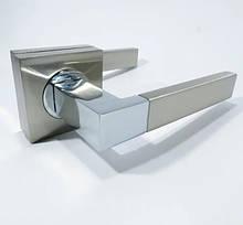 Ручка  KEDR  06.081 - AL  серебро  на квадрате