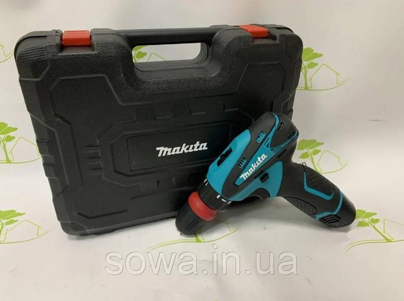 Акумуляторний шуруповерт Makita DF030DWE : 12V : 2A.h