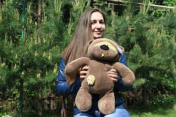 Плюшевий Ведмедик Физзи Мун 45 см Шоколадний