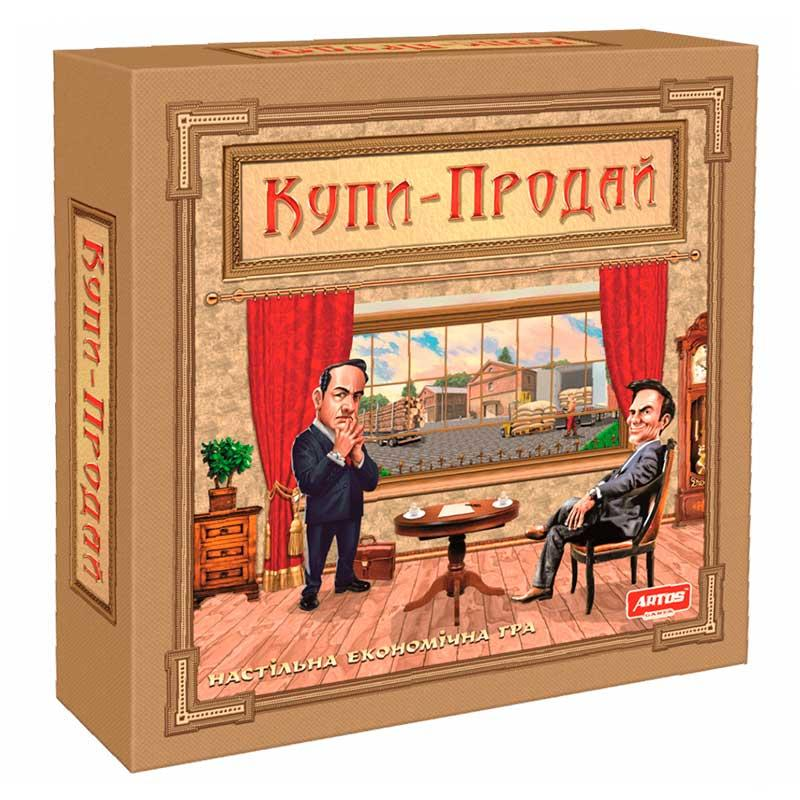 """Настольная игра """"Купи-Продай"""" 1021"""