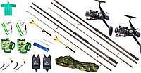 Подарок мужчине, карповый комплект, универсальный набор для рыбалки, Готовые наборы для рыбалки!