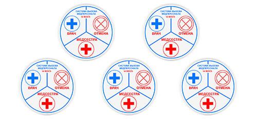Экологичная кнопка вызова медперсонала HIBO Медицина