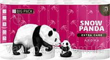 Туалетная бумага Сніжна Панда EXTRA CARE Aroma четырехслойная 16 шт.