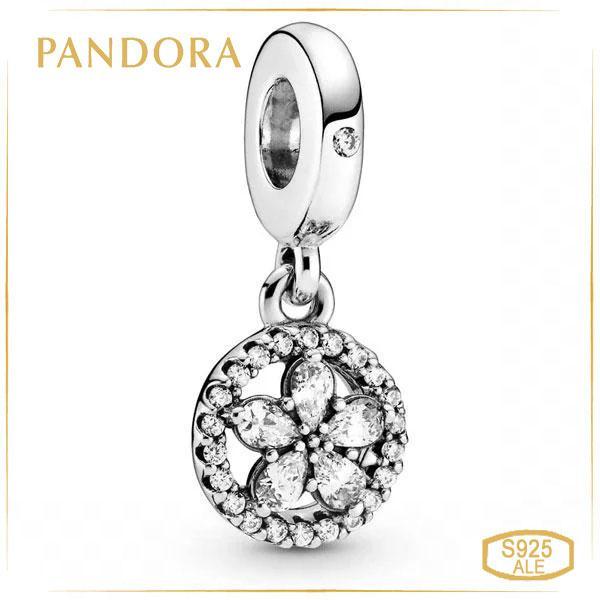 Пандора Подвеска Блестящая снежинка Pandora 799222C01