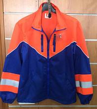 Куртка сигнальная д/с Лидер, сине-оранжевая