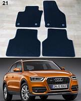 Килимки на Audi Q3 '11-18 ворсові, фото 1