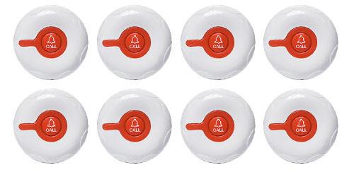 Фото: кнопки вызова персонала RECS R-300 - 8 штук - комплект системы вызова RECS №38