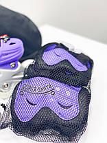 Ролики для девочки 29-33 р - Детские ролики комплект с защитой Scale Sport, фото 3