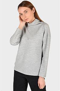 Батник женский серый размер М AAA 128591P
