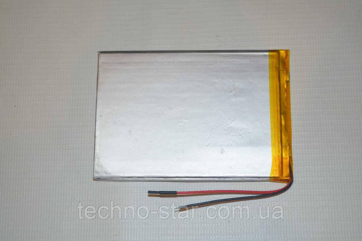 Універсальний акумулятор (АКБ, батарея) 3.7 V 2500mAh (3.0*70*100mm)