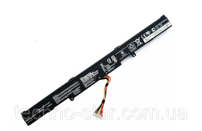 Акумулятор АКБ батарея Asus A41N1501 A41LK9H L41LK2H N552 N552V N552VX N552VW N752 N752V N752VX GL752 GL752VL