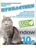 Наполнитель для кошачьего туалета Пушистик Силикагелевый впитывающий 4кг (10 л) (4820216670172)