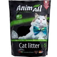 Силикагелевый наполнитель AnimAll Кристаллы изумруда для котов впитывающий 2.2 кг (5 л) (2000981045388)