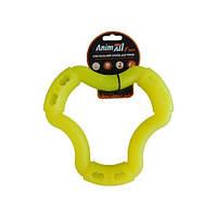 Игрушка AnimAll Fun кольцо 6 сторон 20 см желтый (88221)