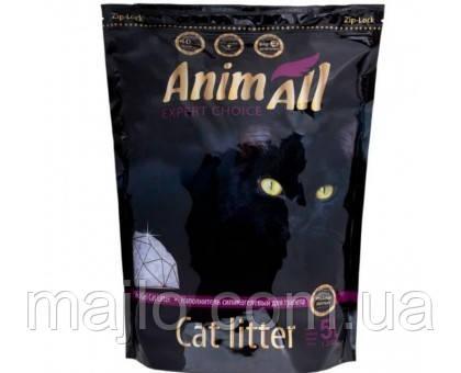 Силикагелевый наполнитель AnimAll Premium Кристаллы аметиста для котов 5 л (2.1 кг)