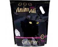 Силикагелевый наповнювач AnimAll Premium Кристали аметисту для котів 7.6 л (3.2 кг)