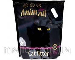 Силикагелевый наполнитель AnimAll Premium Кристаллы аметиста для котов 7.6 л (3.2 кг)
