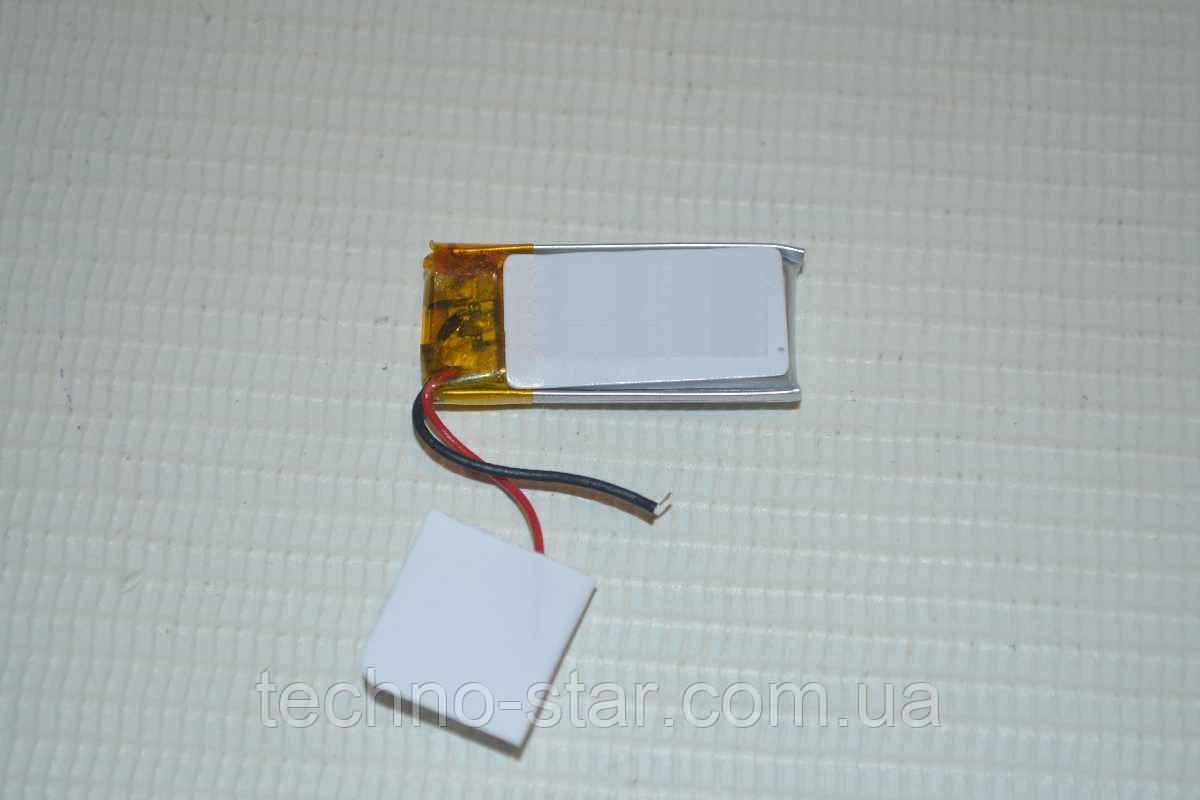 Универсальный аккумулятор (АКБ, батарея) 3.7V 150mAh (4.0*12*37mm)