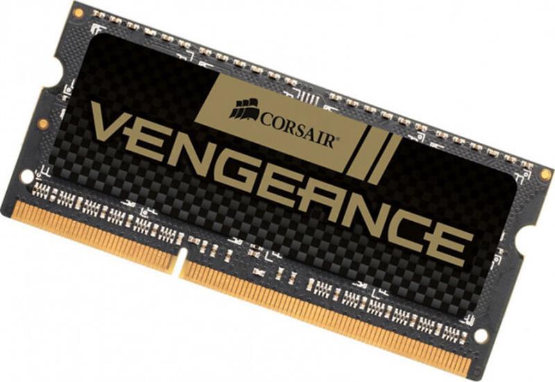 SO-DIMM 8GB/1600 DDR3 Corsair Vengeance Black (CMSX8GX3M1A1600C10)