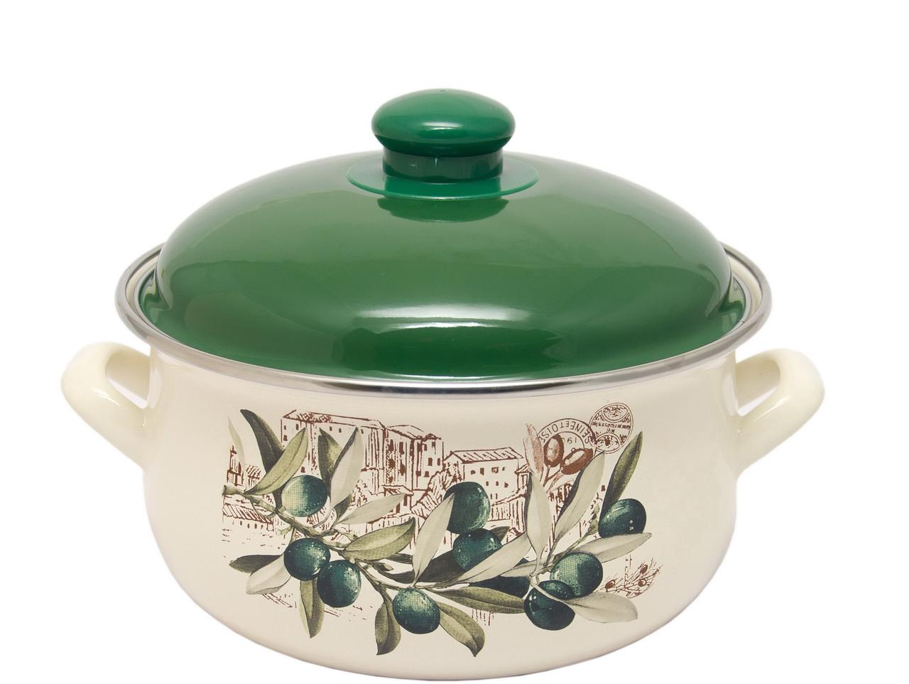 Кастрюля INFINITY Olive (2.4 л) 18 см (6435427)