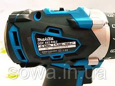 Акумуляторний шуруповерт Makita DDF482RMJ : 18V : 4A.h, фото 3