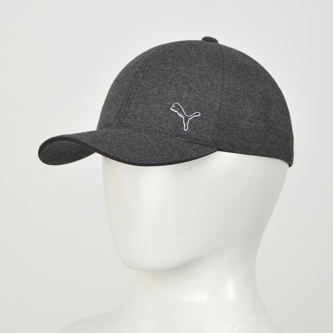 Бейсболка Трикотаж Puma (реплика) серый