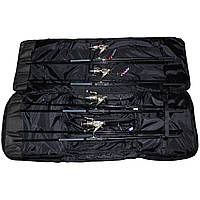 """Карповый набор """"Элит Pro""""   4 спиннинга (карбон) 3.6 м., 4 катушки 6000 с бейтраннером, чехол + подарок"""
